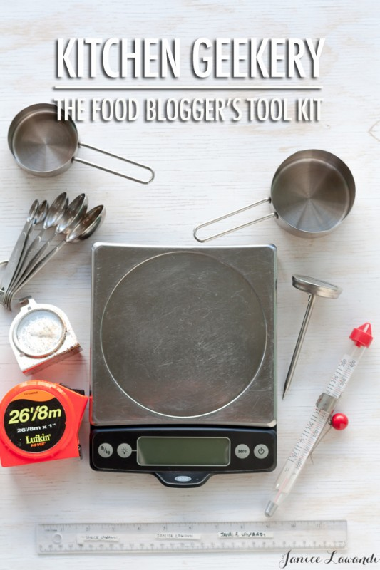 Kitchen Geekery: The Food Blogger's Toolkit