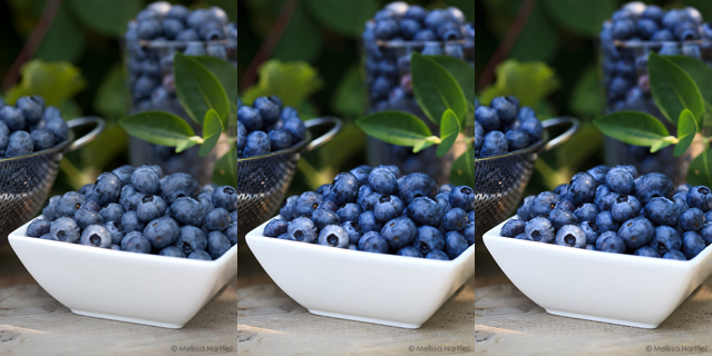 Blueberries | A Food Photography Post Processing Tutorial