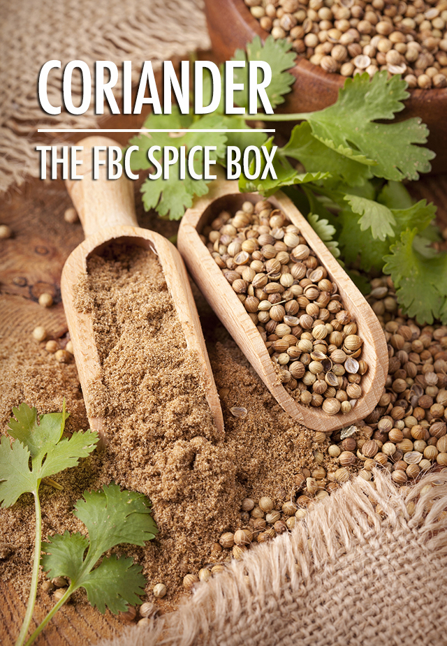 The Spice Box | Getting To Know Coriander | Food Bloggers of Canada