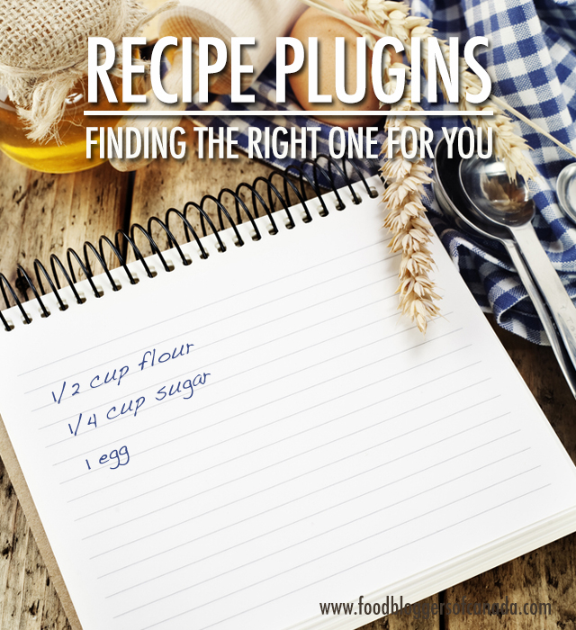 Choosing the WordPress Recipe Plug-in That's Right For You