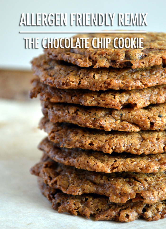 Allergen Friendly Recipe Remix: Chocolate Chip Cookies | Food bloggers of Canada