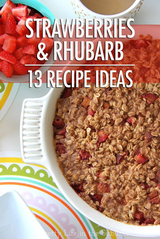 13 Strawberry Rhubarb Recipe Ideas | Food Bloggers of Canada