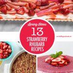 Strawberry Rhubarb Recipe Ideas | Food Bloggers of Canada
