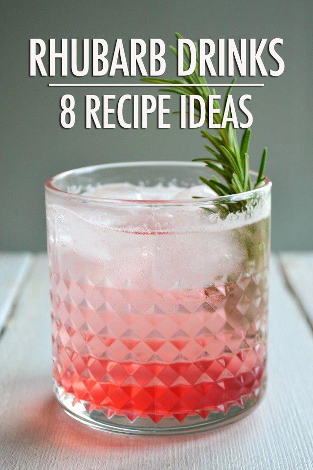 8 Refreshing Rhubarb Drink Ideas | Food Bloggers of Canada
