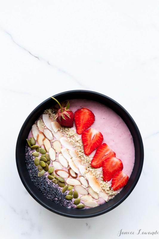 Half Your Plate: Grilled Veggies and Strawberry Smoothie Bowls | Food Bloggers of Canada