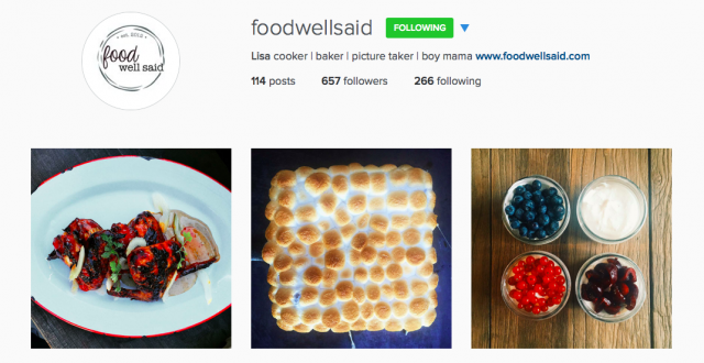10 Food Instagram Accounts You Don't Know But Should | Food Bloggers of Canada