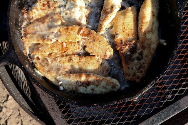 Outdoor Living: A Shore Fish Fry