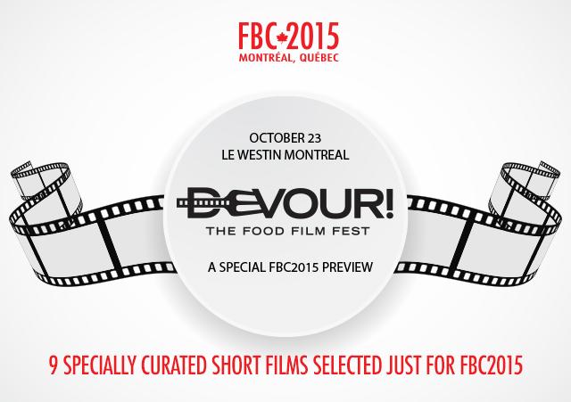 Devour The Food Film Fest | FBC2015