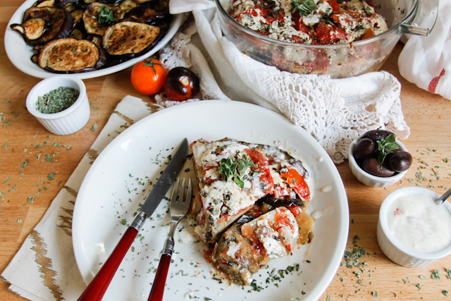 Cold Kalamata Feta Moussaka | Food Bloggers of Canada