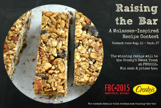 Raising the Bar Sweet Treat Contest | Food Bloggers of Canada