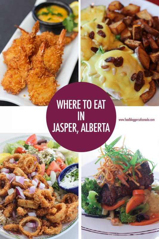 Where to Eat in Jasper, Alberta | Food Bloggers of Canada
