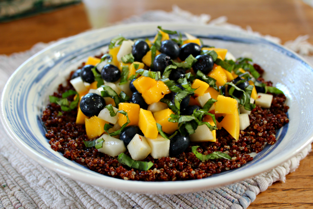 Blueberry Mango Quinoa Salad from Fox Kitchen