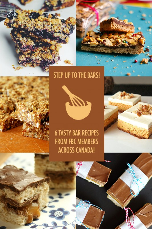 6 Easy to Make Bar Recipes | Food Bloggers of Canada