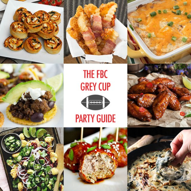 Your Grey Cup Party Guide: Recipe Ideas & Places to Eat