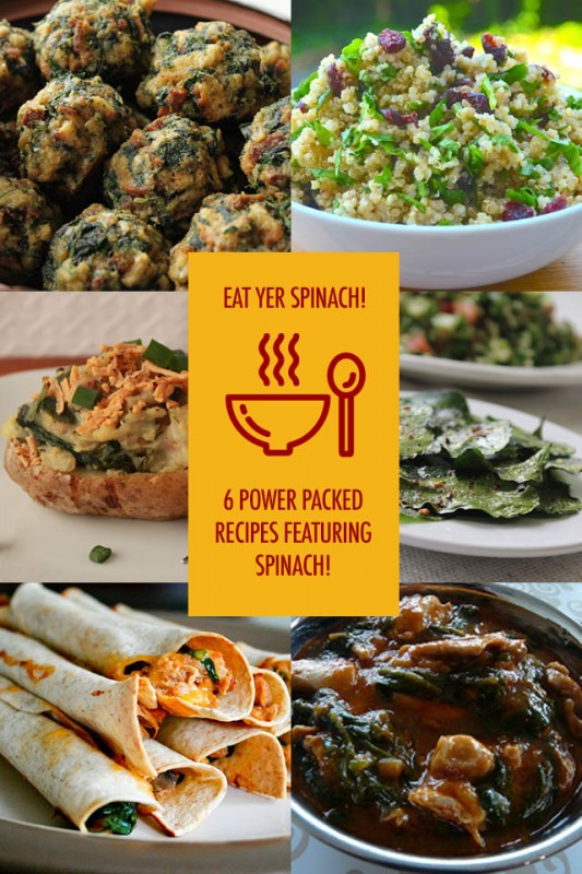 Spinach Recipes | Food Bloggers of Canada