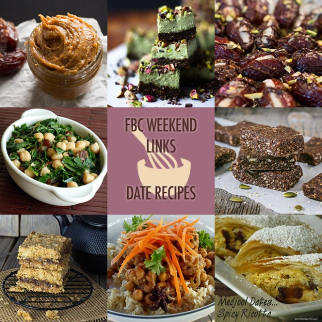 The Weekend Links | Date Recipes