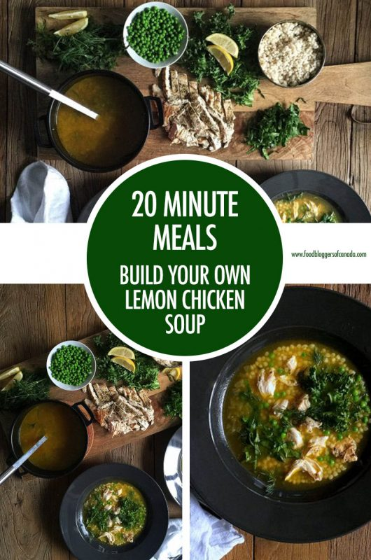 20 Minute Meal Idea: Lemon Chicken Soup | Food Bloggers of Canada