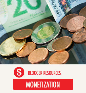 Blogger Resources - Monetization