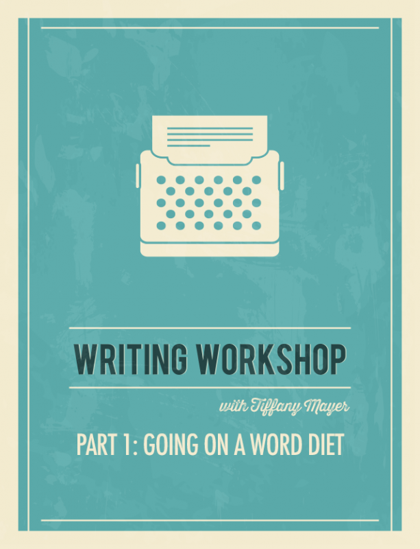 Writing Workshop: Going on a Word Diet | Food Bloggers of Canada