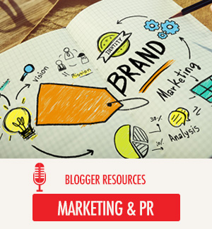 Marketing and PR for Bloggers