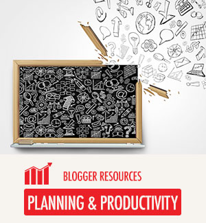 Planning and Productivity Resources for Bloggers
