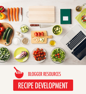 Recipe Development Resources for Bloggers