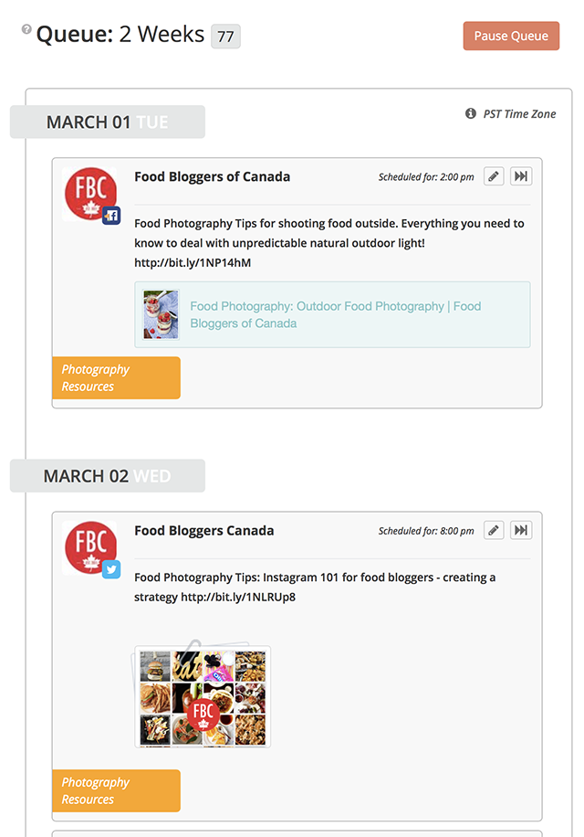 Blogger Resource Review: Meet Edgar | Food Bloggers of Canada