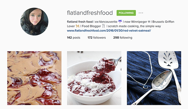 10 More Food Instagrammers You Need to Know | Food Bloggers of Canada