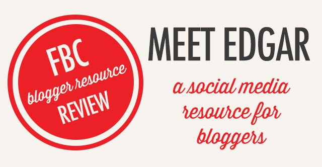 Blogger Resource Review: Meed Edgar