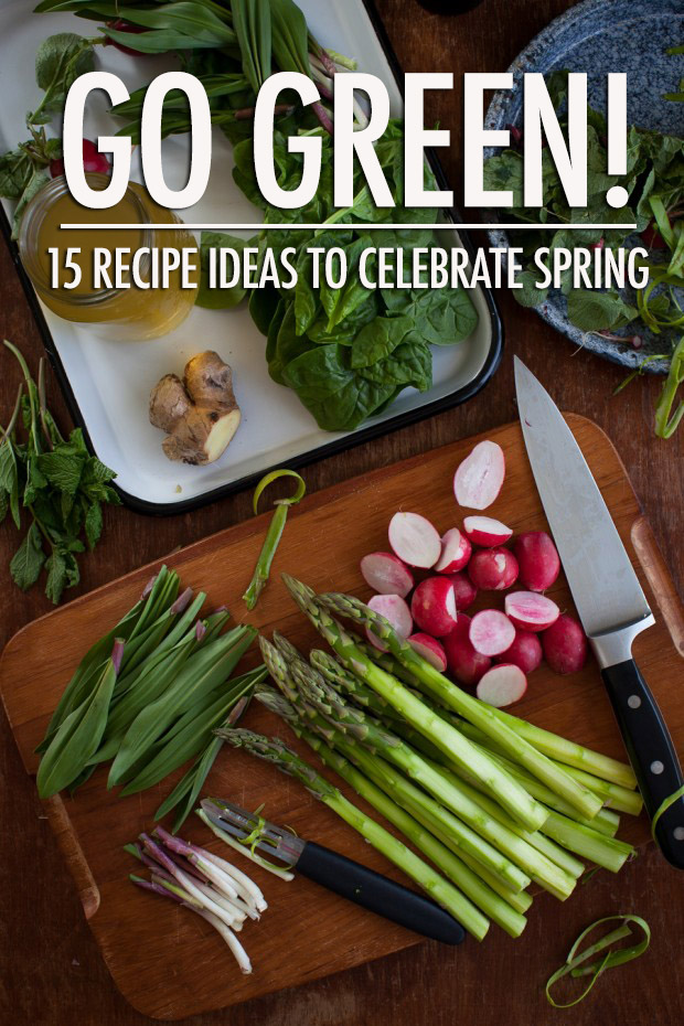 Go Green: 15 Spring Recipe Ideas | Food Bloggers of Canada