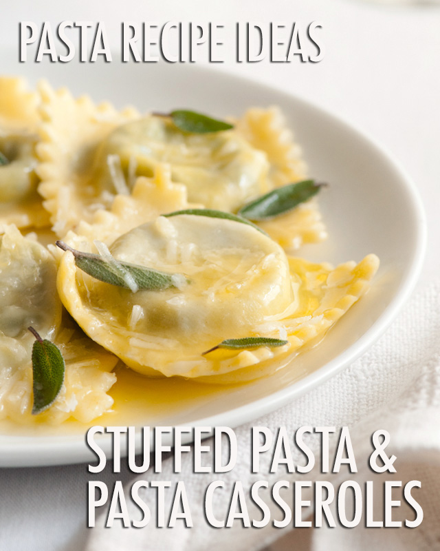 FBC Pasta Week: Stuffed Pasta and Pasta Casseroles | Food Bloggers of Canada