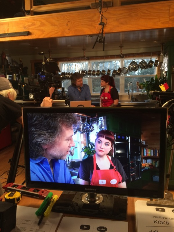 On-camera time and recipe writing tips with Chef Michael Smith