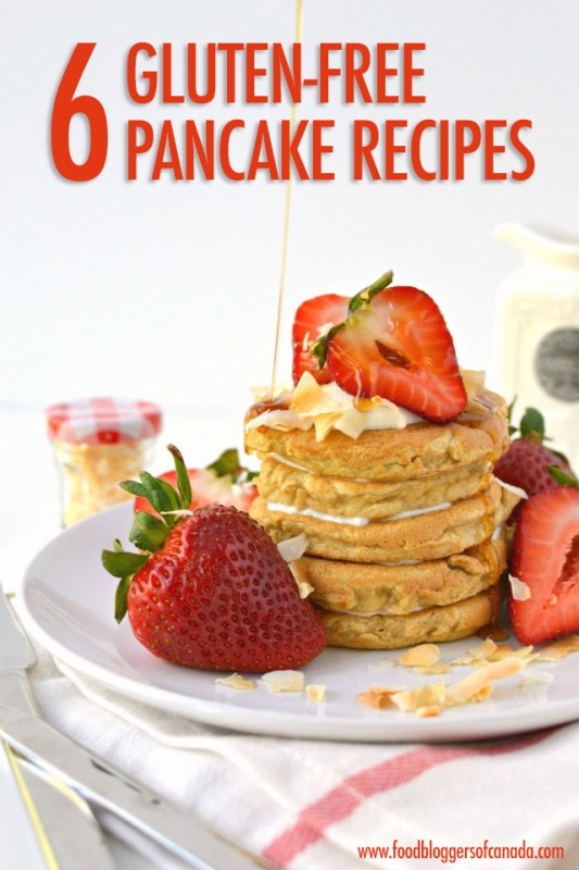 6 Gluten-Free Pancake Recipes | Food Bloggers of Canada