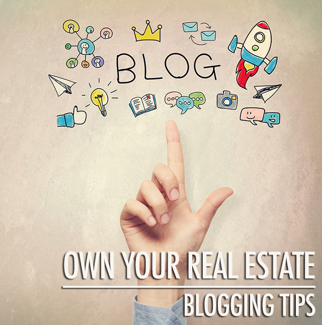 Blogging Tips: Own Your Real Estate | Food Bloggers of Canada