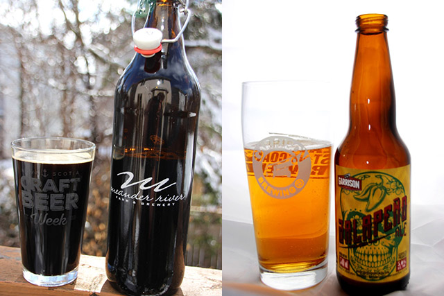 Atlantic Craft Beer: Beers With Heat | Food Bloggers of Canada
