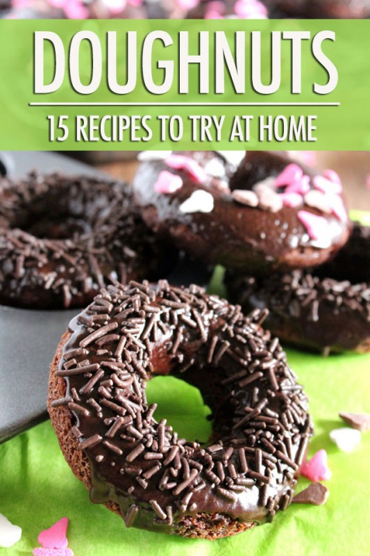 15 Doughnut Recipes to Try at Home | Food Bloggers of Canada