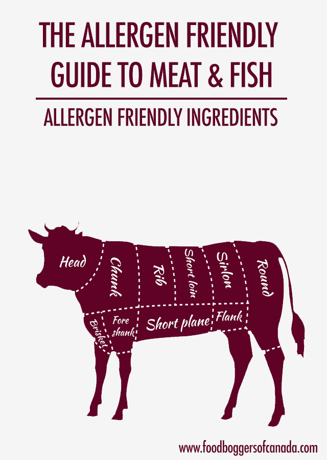The Allergen Friendly Guide to Meat & Fish | Food Bloggers of Canada