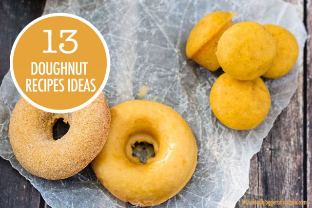 13 Doughnut Recipe Ideas