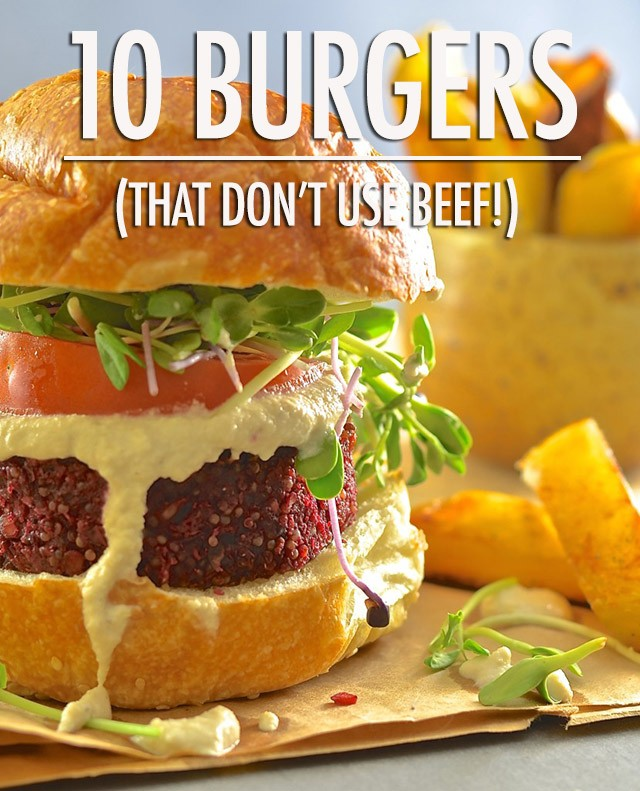 10 Burger Recipes That Don't Use Beef | Food Bloggers of Canada