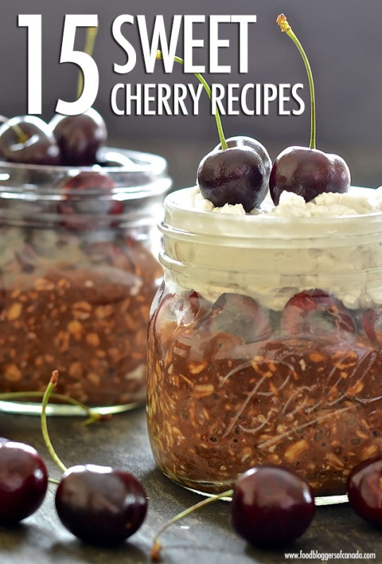 15 Simply Sweet Cherry Recipes | Food Bloggers of Canada