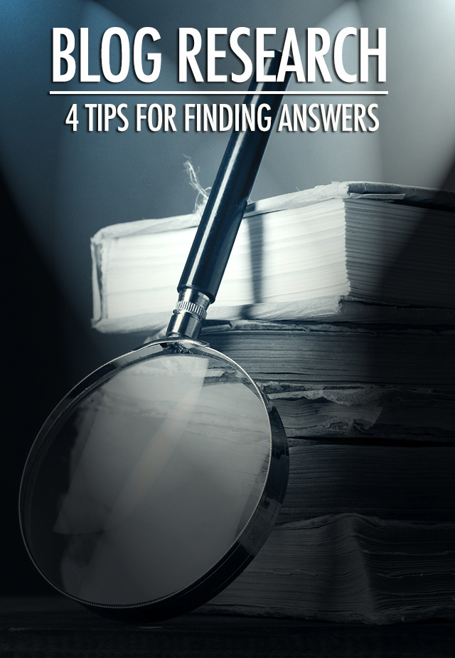 Blog Research: 4 Tips For Finding Answers | Food Bloggers of Canada