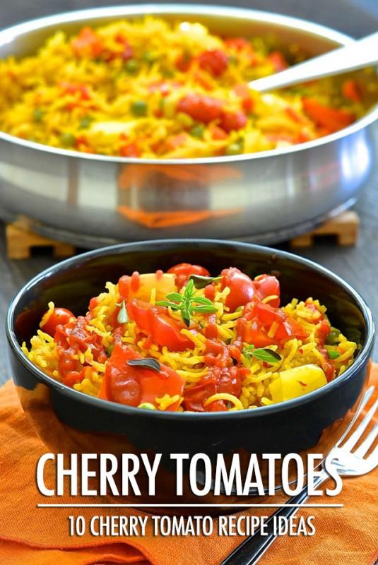 10 Cherry Tomato Recipe Ideas | Food Bloggers of Canada