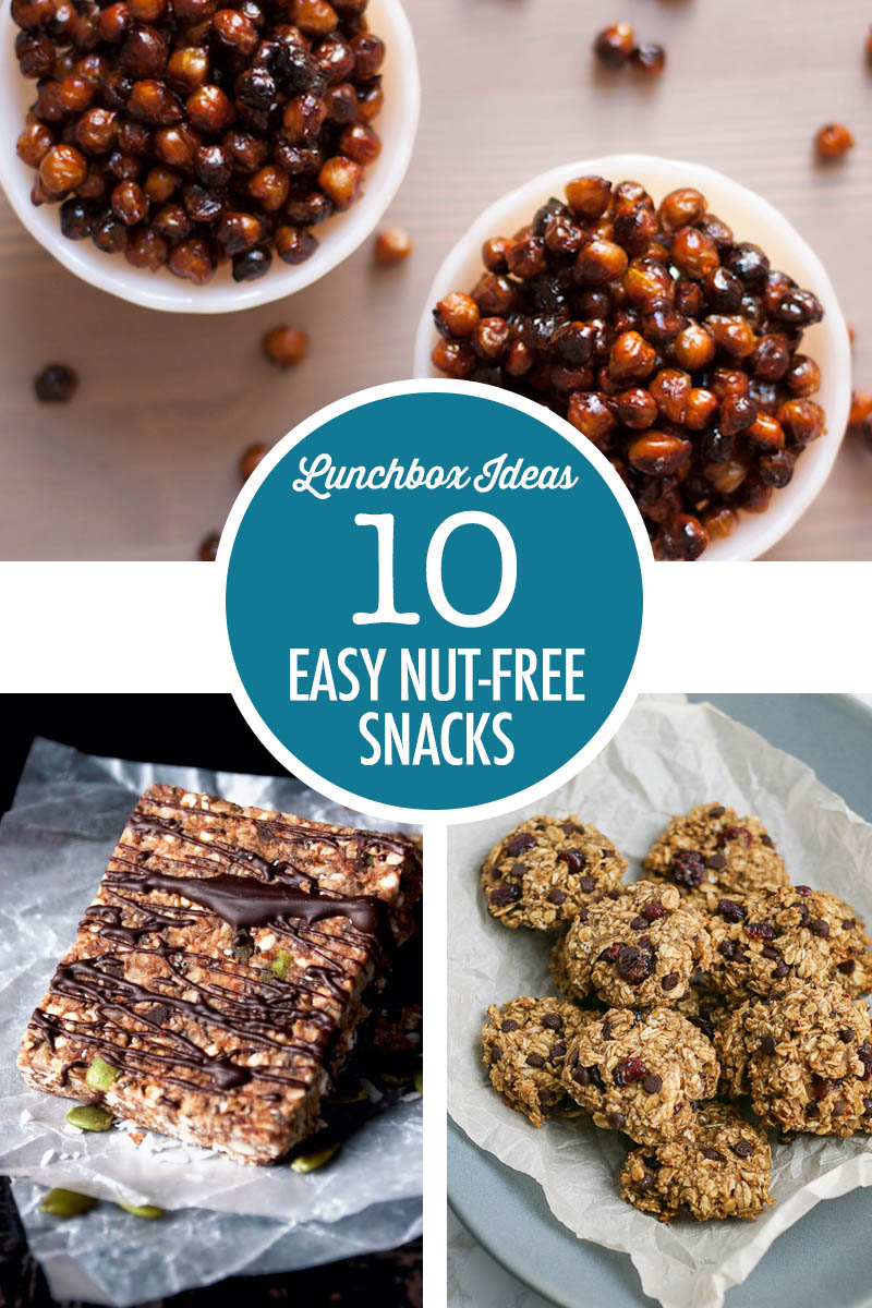 10 Nut Free Snack Ideas | Food Bloggers of Canada