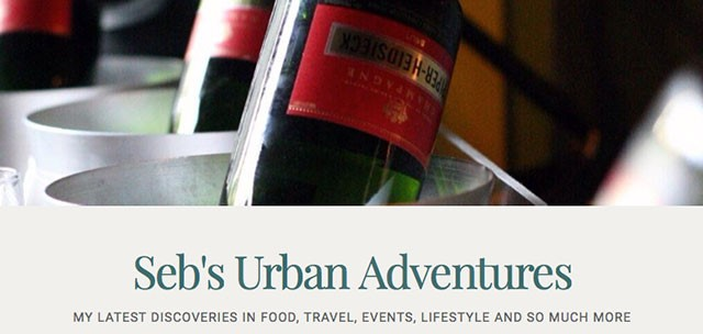 Seb's Urban Adventures | Food Bloggers of Canada
