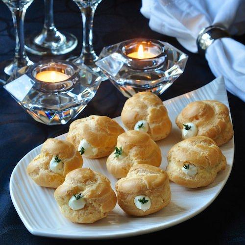 Garlic Thyme Puffs - Rock Recipes