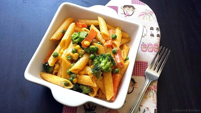 Penne Pasta with Vegetables from Bhawish's Kitchen