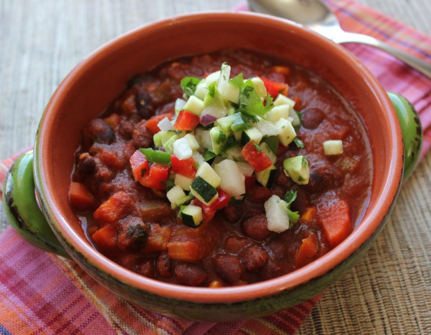 Vegetarian Black Bean Chili from Bakers Beans