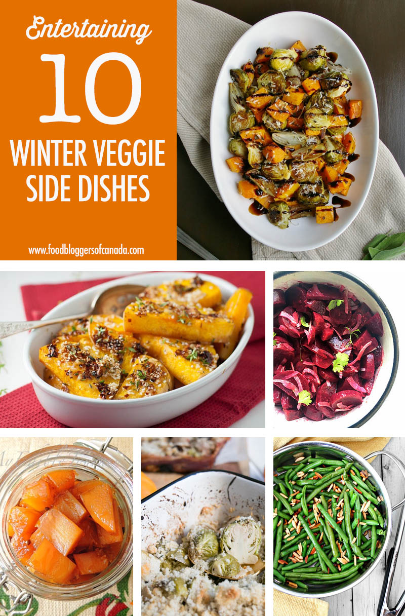 10 Winter Veggie Side Dishes | Food Bloggers of Canada