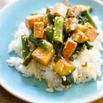 Asparagus, Zucchini and Tofu Stir Fry | Living Lou