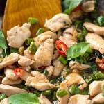 Thai Basil Chicken Stir Fry | Leelalicious